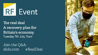 The real deal: A recovery plan for Britain's economy