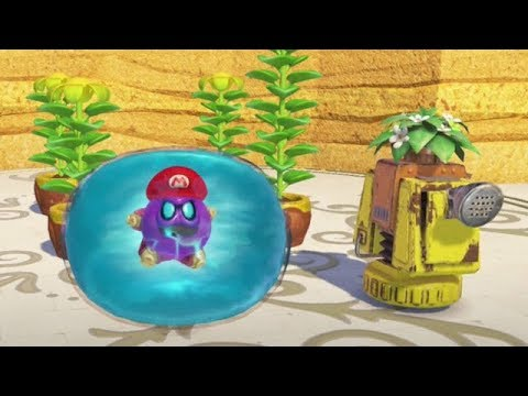 Super Mario Odyssey - All Seed Locations & Power Moons
