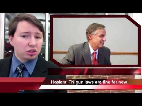 Tennessee governor says gun laws shouldn't change