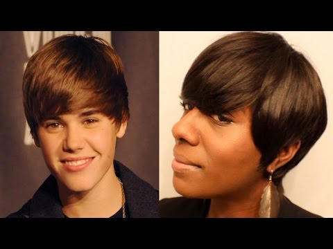 SHORT HAIR CUTTING | The Justin Bieber Old School Haircut| EvaWigs | BEAUTYCUTRIGHT