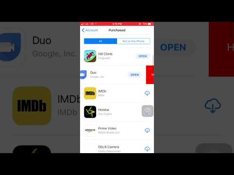 How to delete app purchase history on iPhone