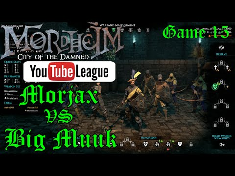 The Mordheim YouTube League - Muuk vs Morjax - Round 3 Game 5/7 - Mordheim PvP Gameplay - Episode 15