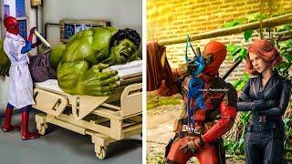 New 2018 Hilariously Superhero - Secret Life Of Marvel