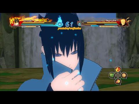 Naruto Ultimate Ninja Storm Revolution - Rinnegan Perfect Susanoo Sasuke Moveset Mod Gameplay (PC)