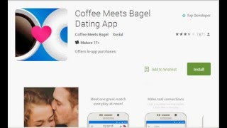 Coffee Meets Bagel And Down Dating Apps Do Not Require That The User