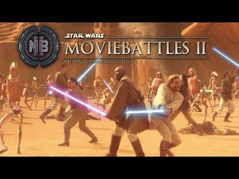 Let's Play Movie Battles II: A Jedi Academy Modification [1.3.2] - #15 - Geonosis Arena