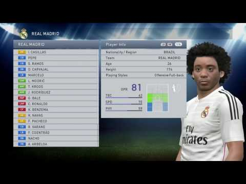 PES 15| How to put your created character into a Team/Club|Solution!