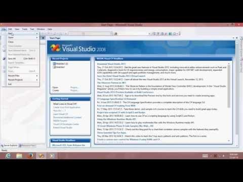 .net Practical 1 using C# C Sharp Language in Visual Studio 2008 with  Net Framework 3 5 - by BCA Ca