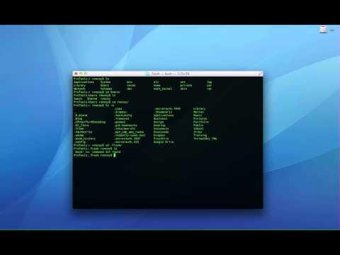 Using Command Line to Empty Mac Trash Bin