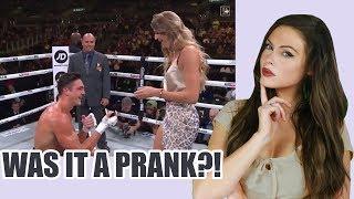 Jatie Vlogs PROPOSAL at KSI/Logan Paul Boxing Match: Josh Brueckner and Katie Betzing