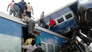 At least 23 dead, over 80 injured after train derails in N India