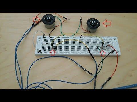 Controlling motors with multiple light sensors
