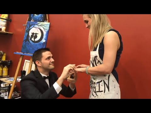 Cutest proposal video 2017!!!!  WILL MAKE YOU CRY!!!