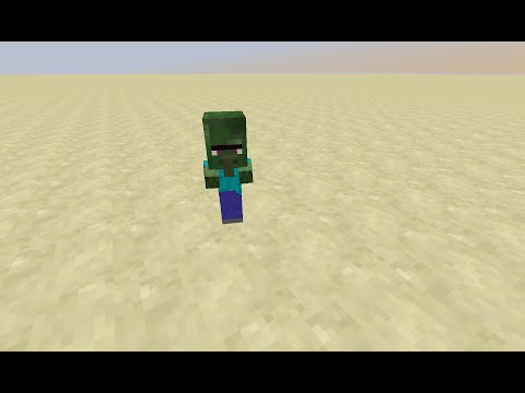 Minecraft how to get a baby zombie villager