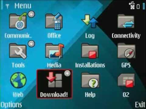 How to install Ovi Store on the Nokia E71