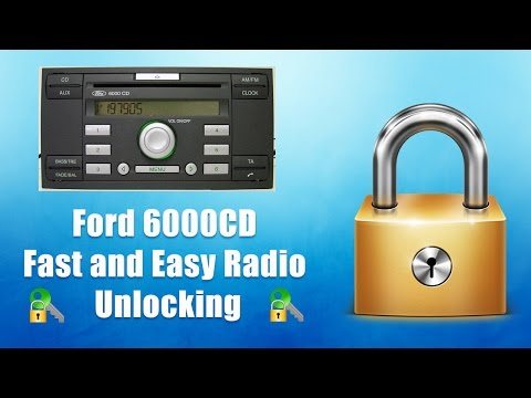 How to Find Your Ford 6000CD Radio Code/Serial - Transit/Focus/Mondeo