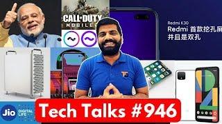 Tech Talks #946 - Redmi K30 Leaks, PM Modi Instagram, Jio Video Call AI, COD Mobile, iPhone SE2