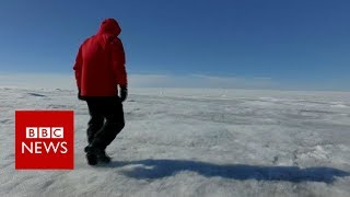 Greenland ice sheet: How do you go the toilet? - BBC News