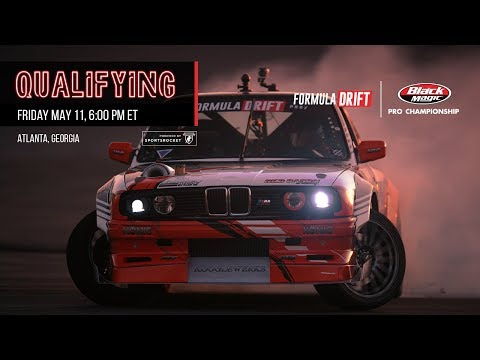 Formula Drift Atlanta - Qualifying LIVE!
