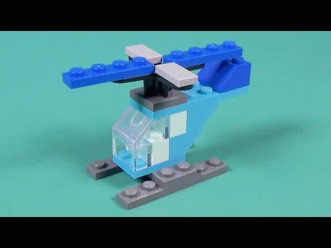 Lego Helicopter Building Instructions - Lego Classic 10695