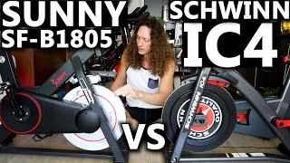 Schwinn IC4 vs Sunny SF-B1805 - Which is better?