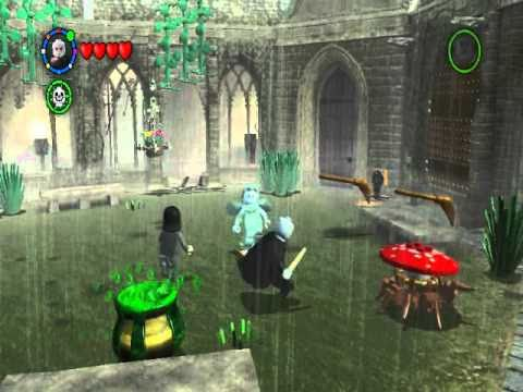 LEGO Harry Potter: Years 1-4 - About the spells of Avada Kedavra & Crucio