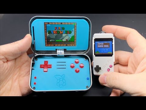 TinyPi - ridiculously tiny gaming handheld!