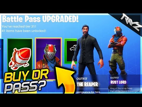 Should You Buy A Fortnite Battlepass? EVERYTHING You Get In Season 3 Pass! (Fortnite Battle Royale)