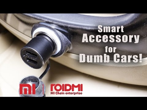 Xiaomi Roidmi Car Charger Bluetooth FM Transmitter Review- Dumb Car to Smart One!