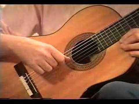 Classical Guitar Lesson #4: Free Stroke