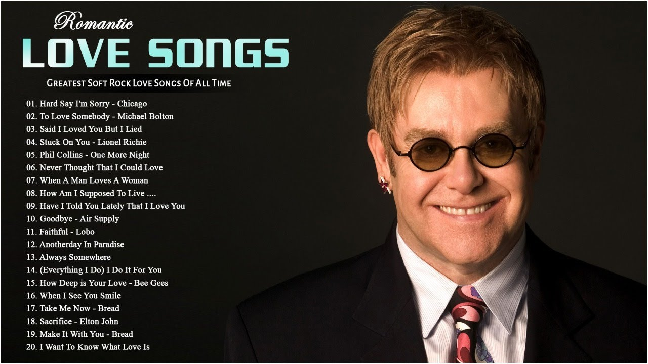 Elton John, Bee Gees, Air Supply, Phil Collins, Queen Style 💗 Best Soft Rock Songs 70s 80s 90s