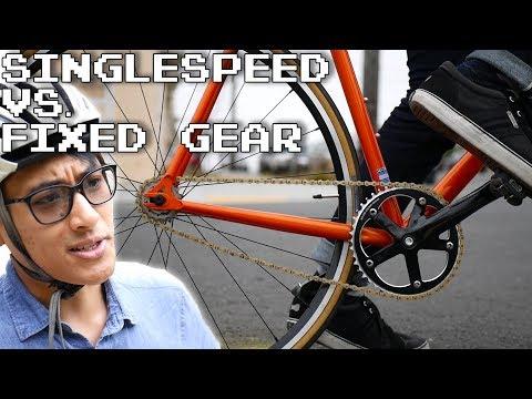 Singlespeed vs. Fixed Gear Bikes