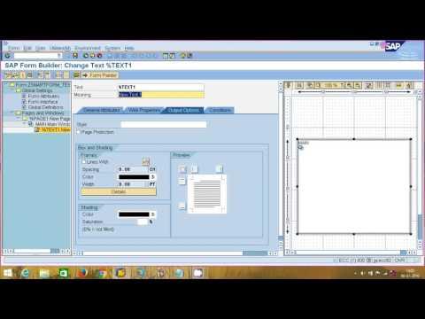 SAP ABAP - SMARTFORMS - PART - 1