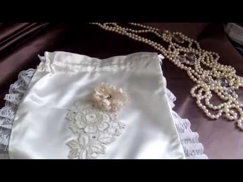 Bridal Gift Bag, Wedding Bridal Bag, Bridal Money Bag