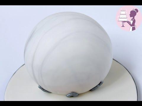 HOW TO MAKE A CRYSTAL BALL CAKE