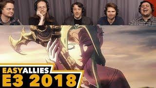 Fire Emblem: Three Houses - Easy Allies Reactions - E3 2018