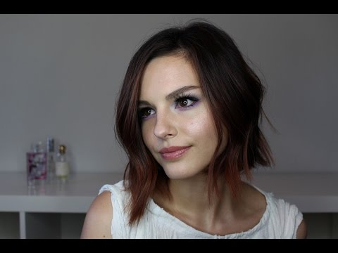 How I Style My Long Bob! Relaxed Flat Iron Waves | Rachel Weiland