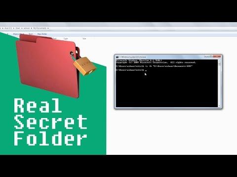 How to Make Secret Hidden Folder or Files in Computer