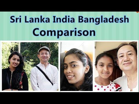 Sri Lanka India Bangladesh Comparison