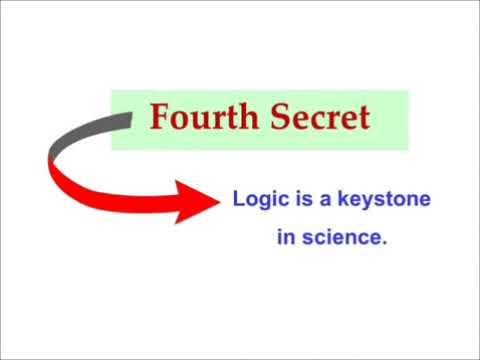 Seven Secrets to succeed in science