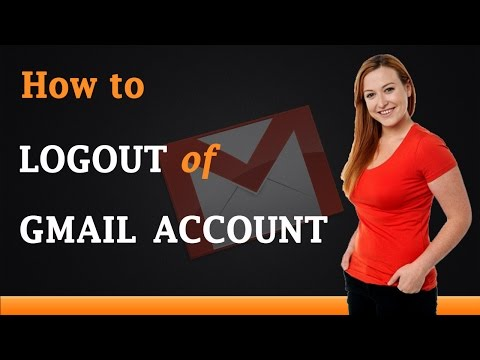 How to Logout of Gmail Account