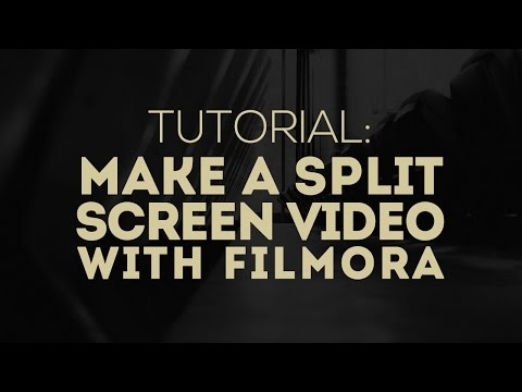 How to Make A Split Screen Video in Wondershare Filmora