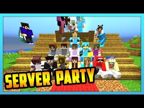 Minecraft Livestream - Server Party!