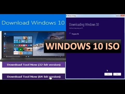How to download Windows 10 ISO file from official Microsoft Website