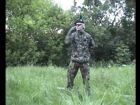 Royal Irish Rangers Airsoft Mazowsze - Znaki niewerbalne (handsignals)