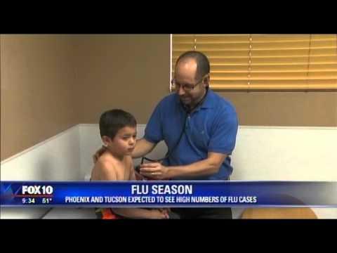 MVP Kids Care - Dr  Broome Flu Shots on Fox 10