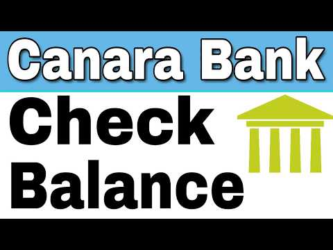How to Check Canara Bank Balance By Missed Call And SMS From home