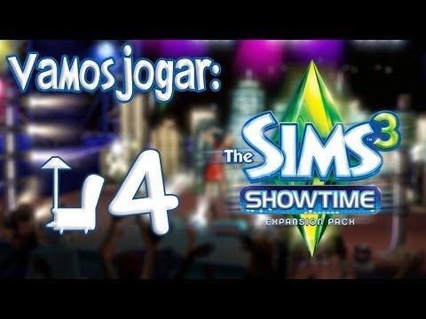 The Sims 3 Showtime Gameplay - O Primeiro Show de Antonie Ep.4