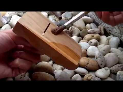 DIY Wood Block Plane (กบเล็ก)