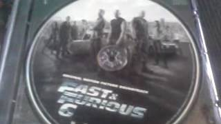 Unboxing Fast & Furious 6 DVD & Soundtrack CD